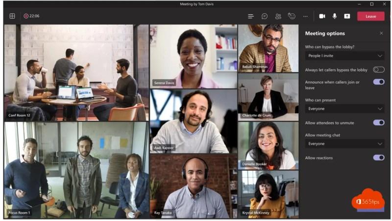 Alleen uitgenodigde gebruikers nemen rechtstreeks deel aan een vergadering