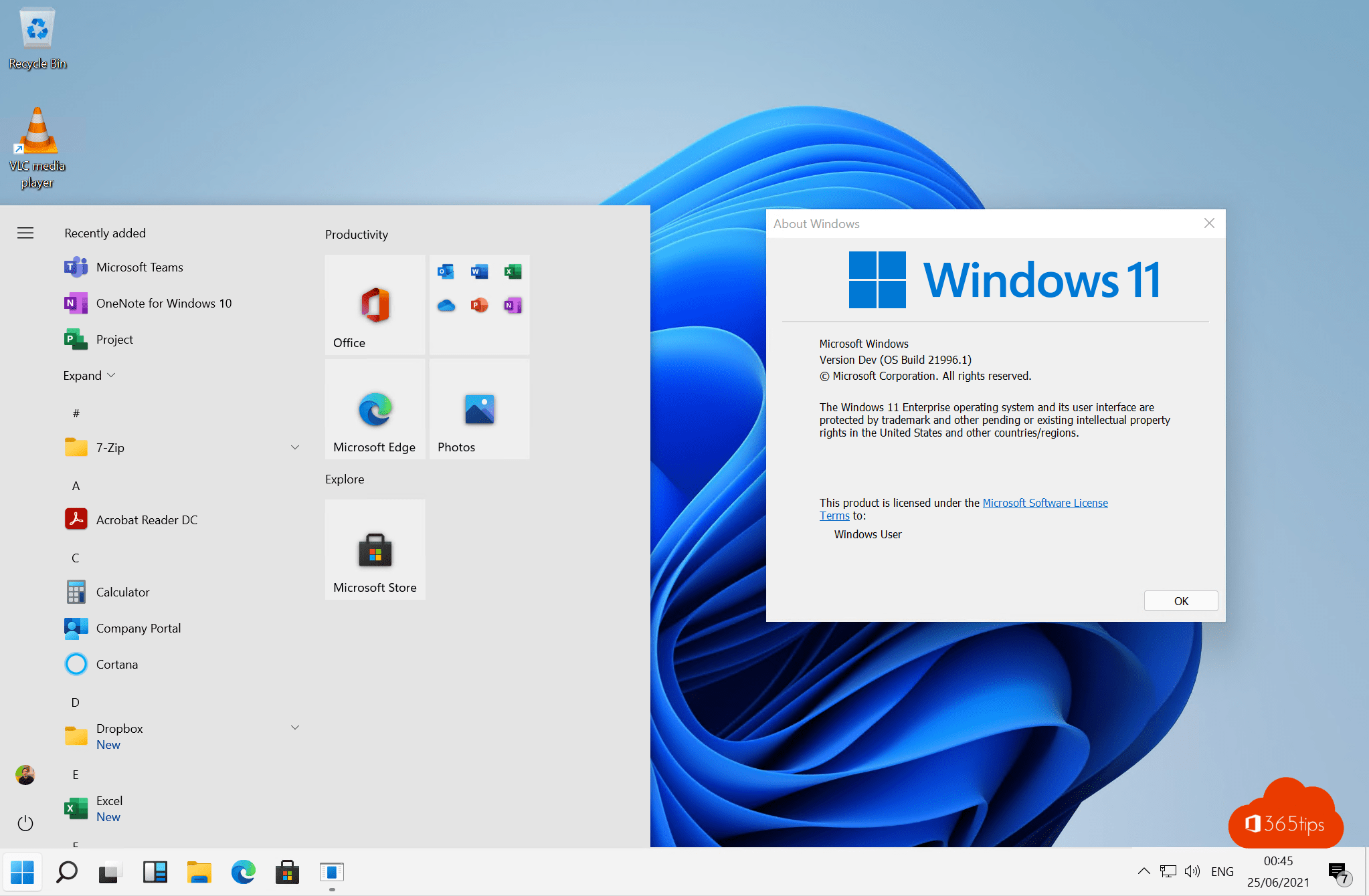 Tip: Windows 11 Start-menu terugzetten naar Windows 10