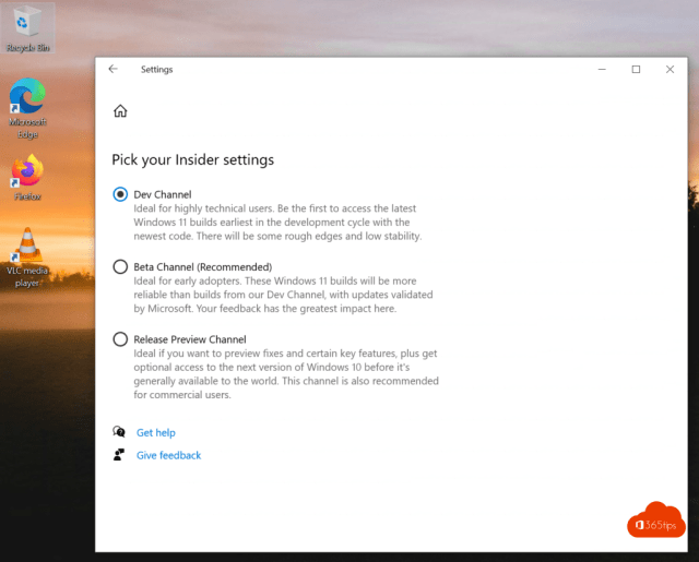 Dev Channel Windows 11 - Insider Preview