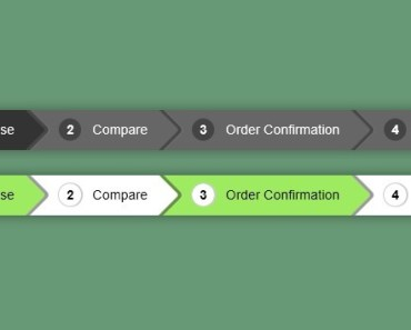 Pure CSS3 Breadcrumbs Navigation