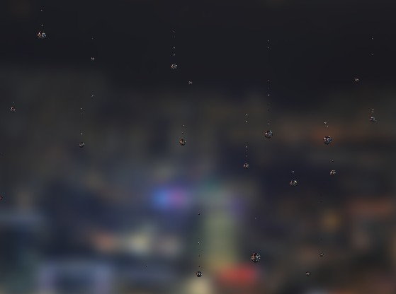 Simulate Raindrops Falling On A Glass Surface - rainyday js