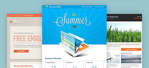 3 great designed newsletter templates psd 365 web resources