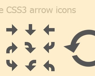 Animated Arrow Icons With Pure CSS3