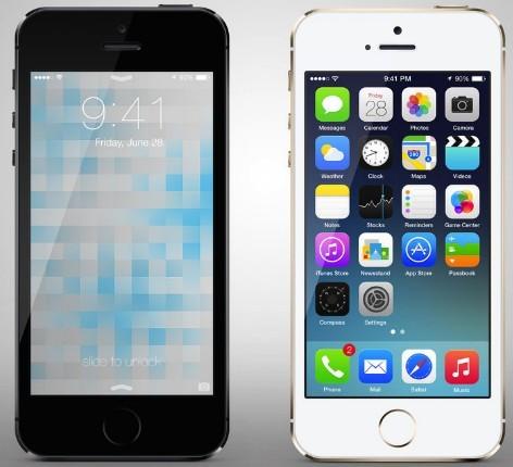 Apple iPhone 5S PSD