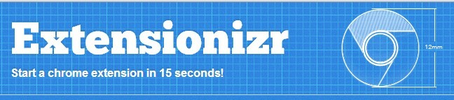 Create A Chrome Extension In 15 Seconds - Extensionizr