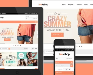 LookShop - Free Responsive PSD Template