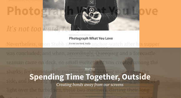 Medium Blog Style Page Transition Effect
