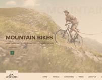 Mountain bikes Free PSD
