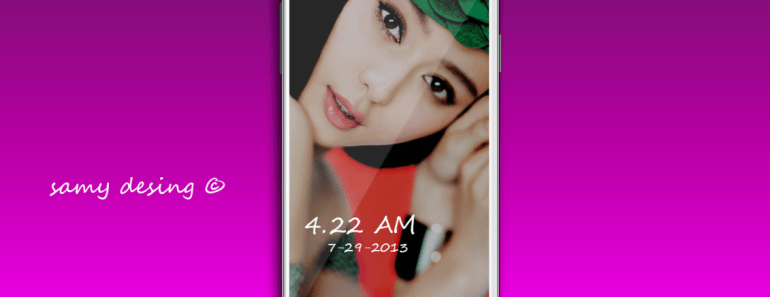 Samsung Galaxy S4 Template