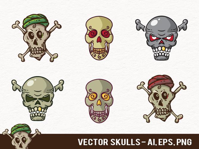 Vector Skulls