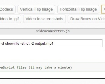 A Javascript Library For Converting Videos In Your Browser - videoconverterJS