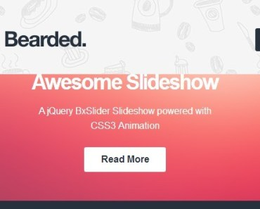 A Responsive CSS3 and HTML5 Blogging And Portfolio Theme For Wordpress - Bearded
