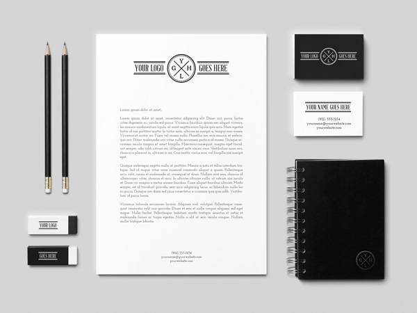 Branding Identity MockUp Vol2