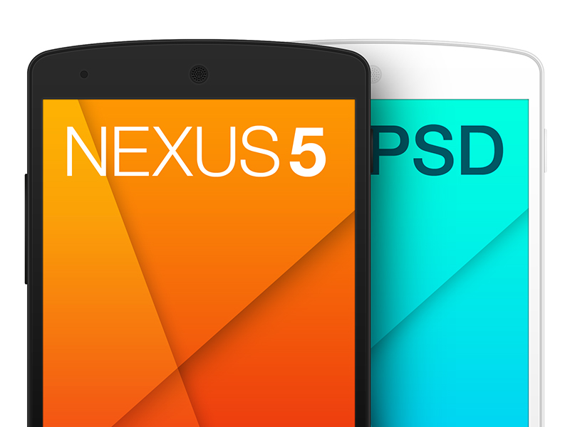 Nexus5 PSD Template