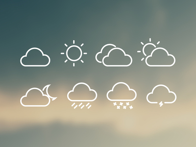 8 FREE Weather Icons