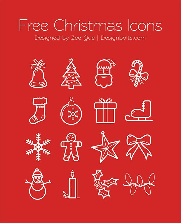Beautiful Free Christmas Icons