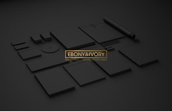 Ebony & Ivory. Branding Mockup