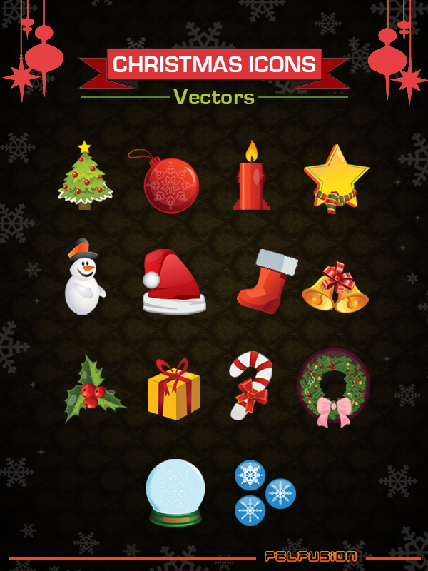 Free High Quality Christmas Icons