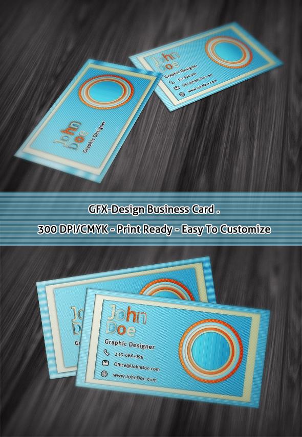 GFX-Design Business Card