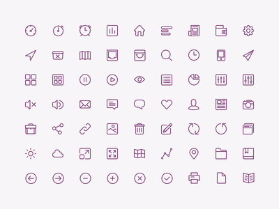 Iconset PSD