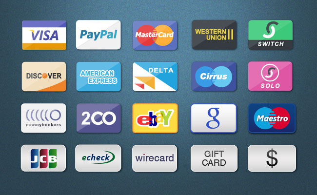 Payment Card Icons
