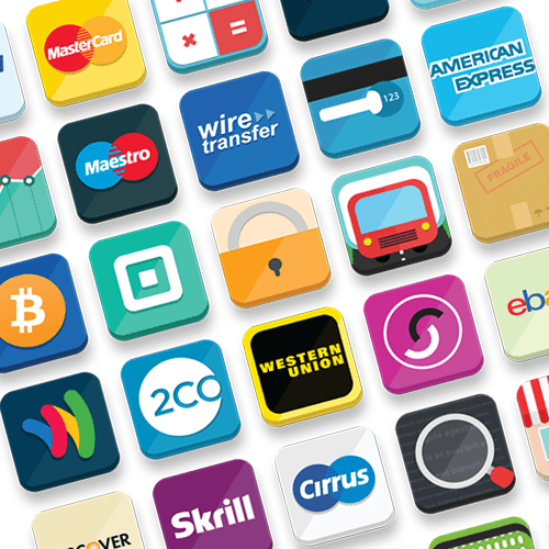 33 E-Commerce Icon Set