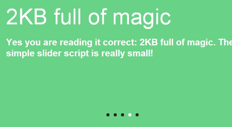 Simple jQuery CSS3 slider
