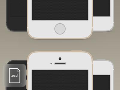 iPhone 5S Mockup