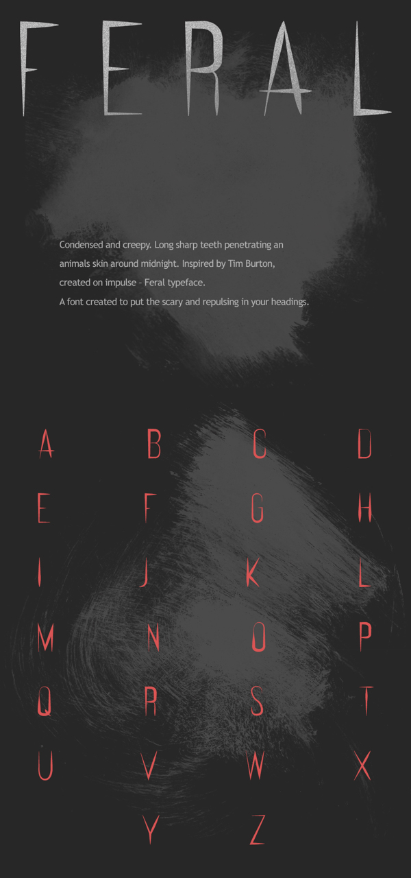 FERAL Free Typeface