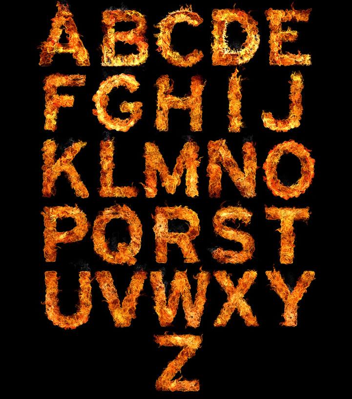 Inferno Typeface