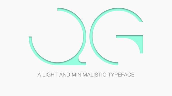 QG (Free Font)