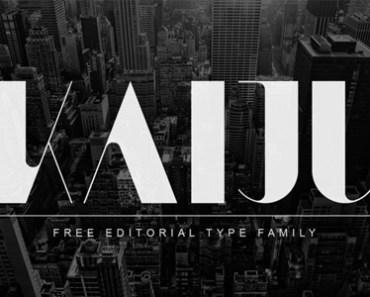 KAIJU (Free Font)