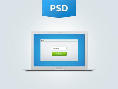 Pixel Perfect Macbook Air Screen