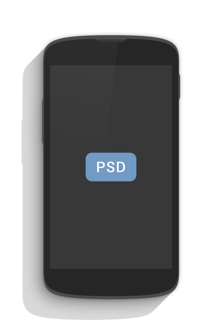 Another Nexus 4 PSD