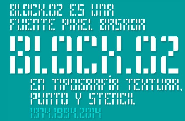 Block_02 free font