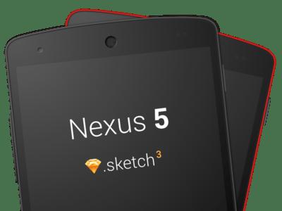Nexus 5 Sketch 3 Template
