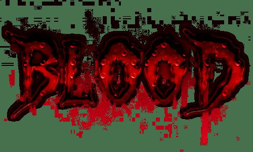 Blood - Text Effect