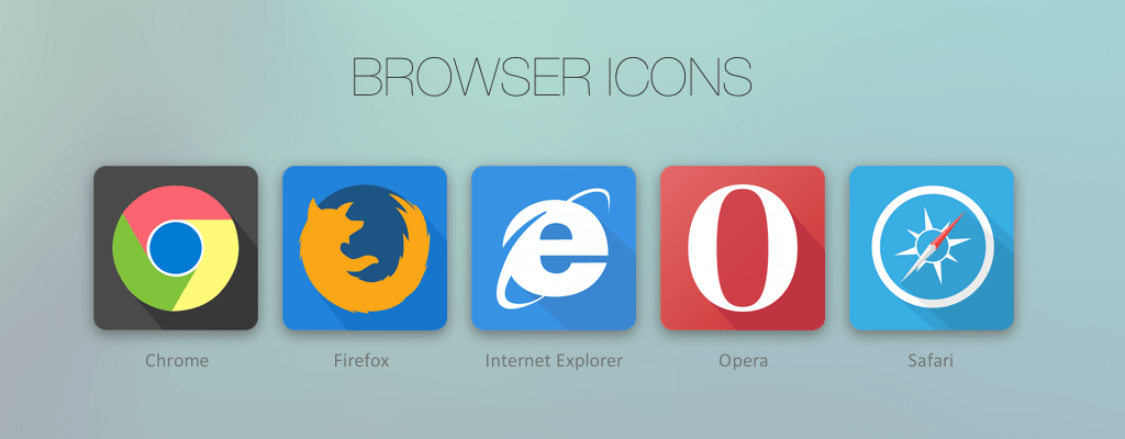 Free Browser Icons