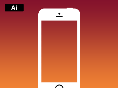 Free iPhone 5c Illustrations