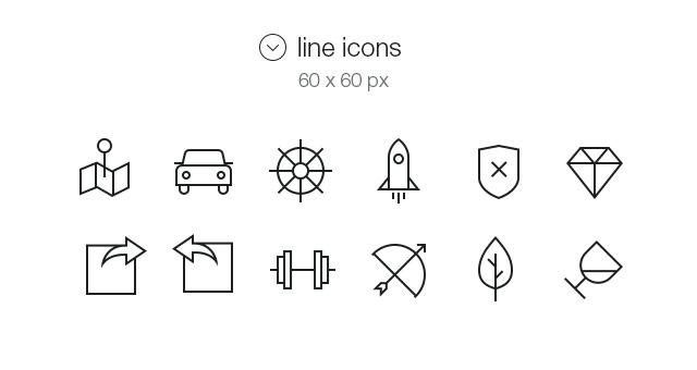Tab Bar Icons iOS 7 Vol6