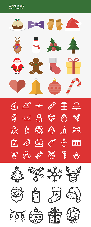 XMAS Icons Set