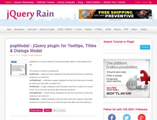 7 Best Websites To Find and Download Free jQuery Plugins - 365 Web