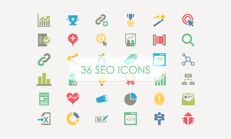 36 SEO Vector Icons