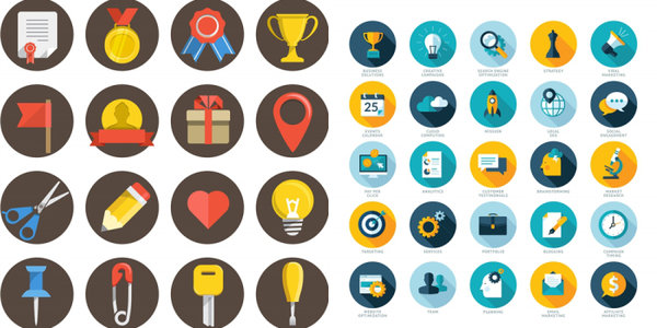 SEO Services Icons Collection