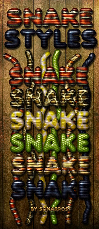 Snake styles
