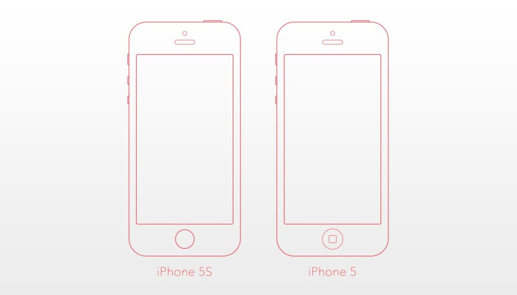 iPhone 5 5S Mockup