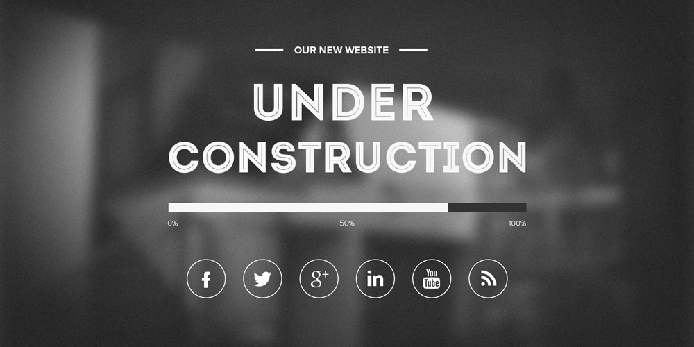Free Under Construction Template