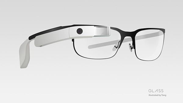 Google Glass illustration