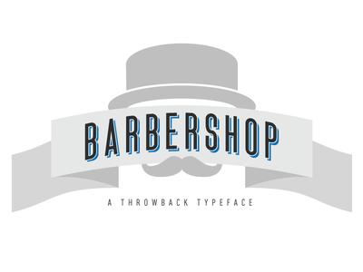 Barbershop Typeface