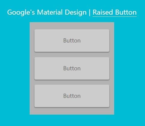 Google's Material Design Raised Button